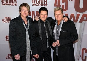 Rascal Flatts Red Carpet