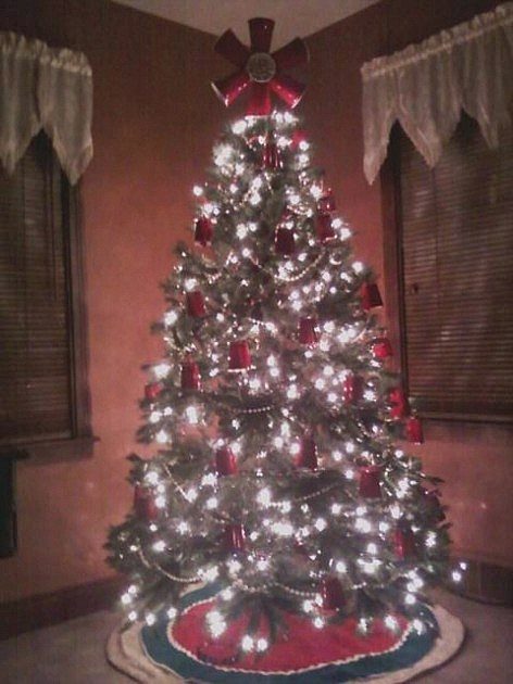 Red Solo Cup Christmas Tree