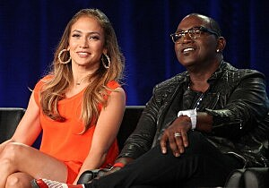 Jennifer Lopez & Randy Jackson