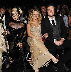 Gaga and Miranda