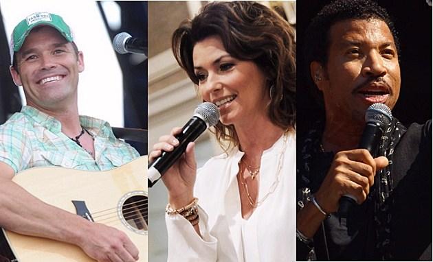 James Wesley - Shania Twain - Lionel Richie