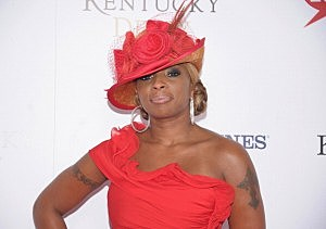 Mary J. Blige at 138th Kentucky Derby