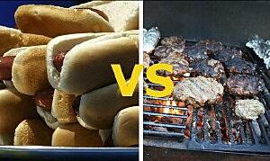 Burgers vs Dogs