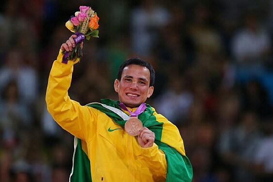 Brazilian Judo Bronze Medalist Felipe Kitadai
