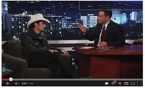 Brad Paisley & Jimmy Kimmel
