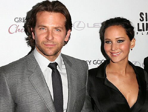 Bradley Cooper & Jennifer Lawrence