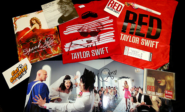 Taylor Swift Prize Package
