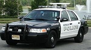 Police Car Barnegat