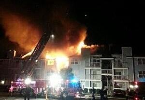Heathercroft Fire