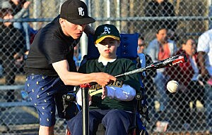 Michael with Alex Field of Dreams