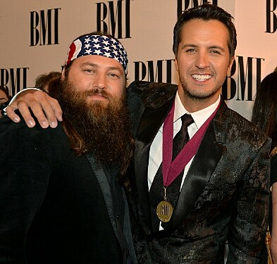 Luke Bryan and Willie Robertson
