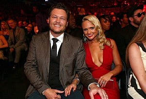 Blake Shelton & Miranda Lambert Grammys