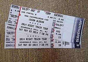 Jason Aldean tix