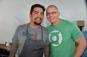 Aaron Sanchez & Robert Irvine