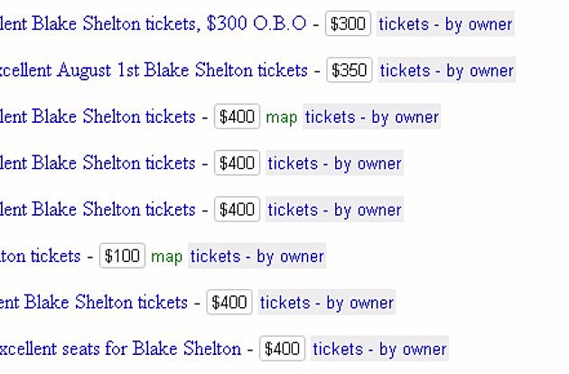 Blake Lady A Tickets Craigslist