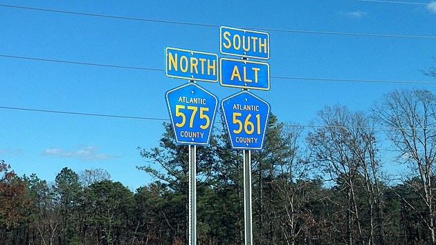 County Routes 575 and 561 Spur in Galloway - Chris Coleman/Townsquare Media