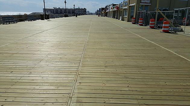 Ocean City Boardwalk Reconstruction - Photo: Chris Coleman/Townsquare Media