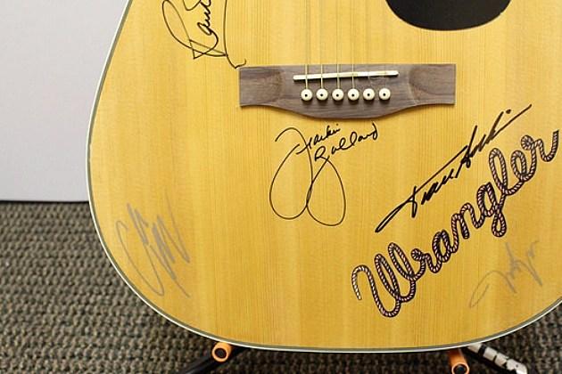 Autographed guitar - Townsquare Media