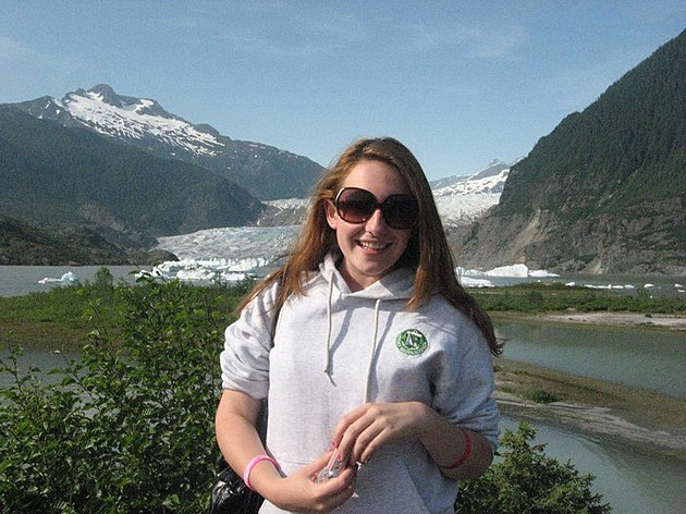 Mendenhall Glacier, Alaska TSM Chelsea Corrine